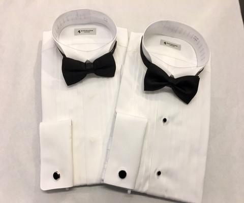 4ece69b81bb40 ブラックタイタキシードシャツの装い