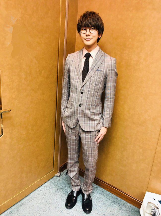 花江夏樹さんのオーダースーツ